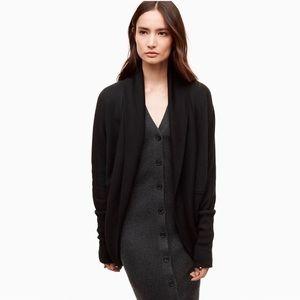 Wilfred Diderot sweater cardigan aritzia black